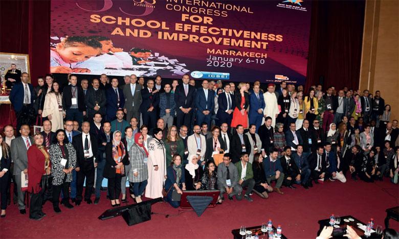 Le 33e Congrès international pour l'efficacité  et l'amélioration de l'école prend fin