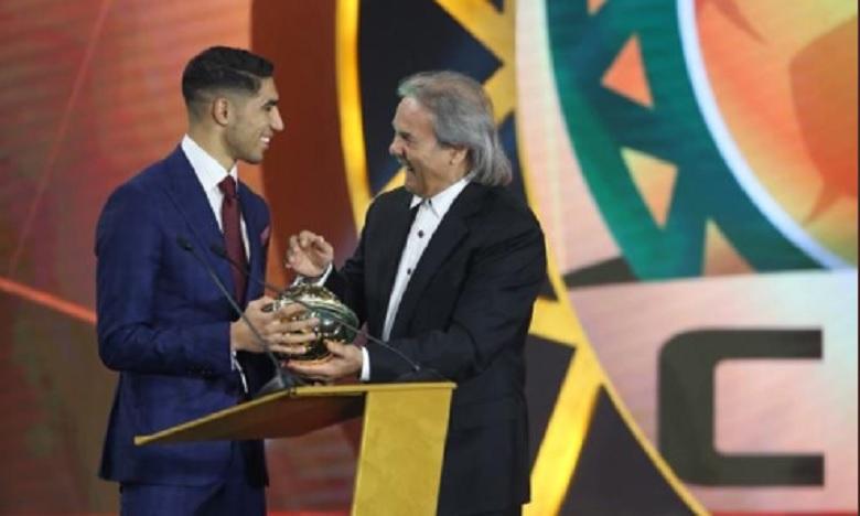CAF Awards : Achraf Hakimi, meilleur joueur espoir de l'année