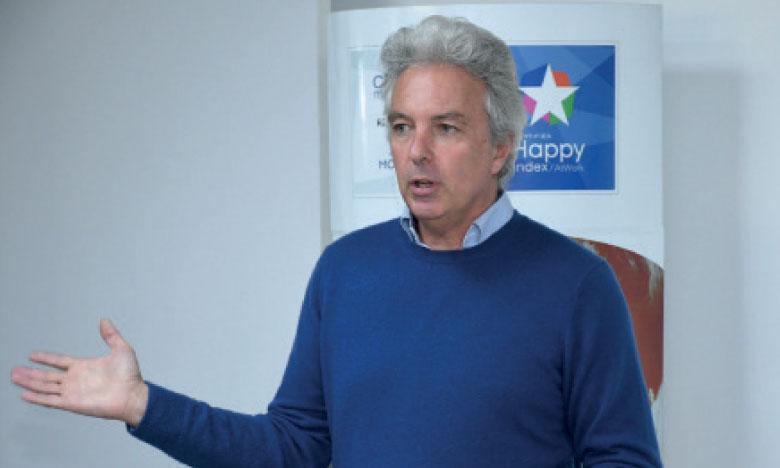 Philippe Montant, directeur général de Rekrute : «La notoriété de l'entreprise est le premier élément qui attire les candidats».                 Ph. Saouri