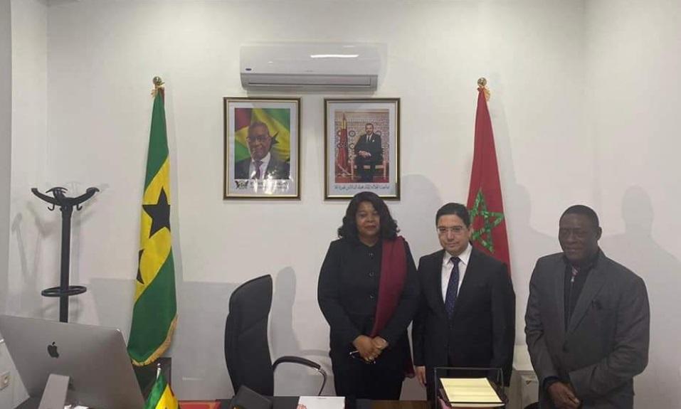 Laâyoune accueille le consulat de Sao Tomé-et-Principe