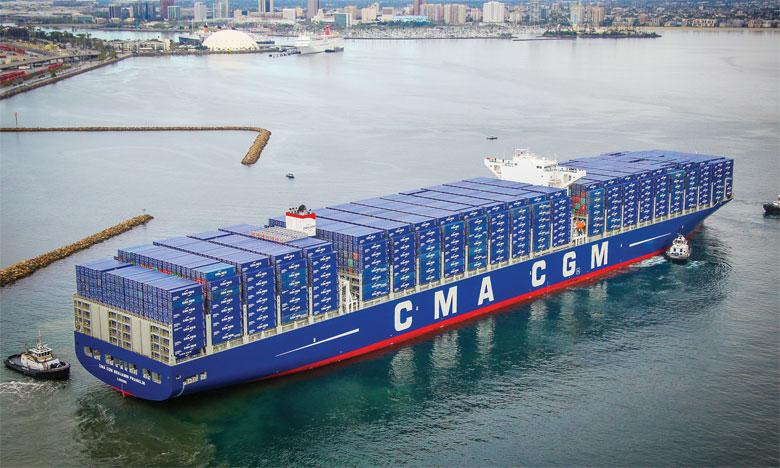 Pour le lancement de l'Ocean Alliance 4 Day Product, CMA CGM s'est allié à COSCO Shipping, Evergreen et OOCL.