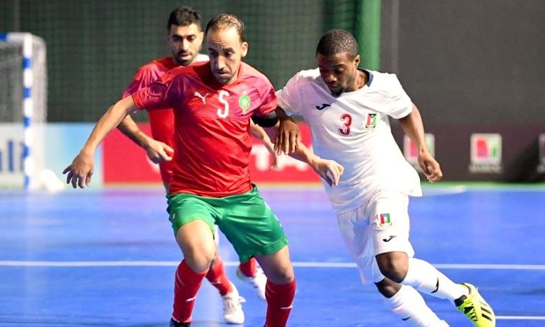 Le Maroc a pris la tête du groupe A après s'être imposé lors de la première journée 3-0 face à la Libye qui a remporté par forfait son match contre l'Ile Maurice. Ph : MAP