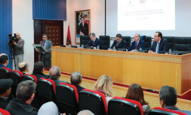 Journée d'information sur les modalités  de suivi des projets financés  par le Fonds «Charaka»