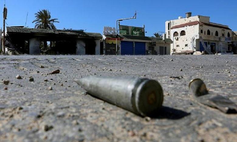 Un Marocain tué par la chute d'obus de mortier sur Tripoli