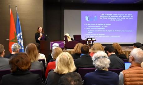 Présentation à Rabat des principales conclusions du rapport biennal thématique d'ONU Femmes