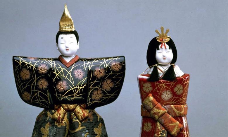 Les poupées du Japon ou l'évocation  d'une civilisation ancestrale