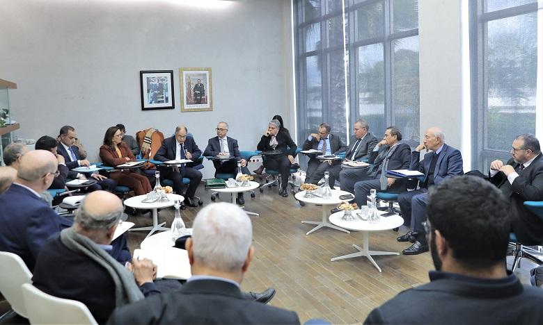 Le Conseil de la concurrence a été représenté par son président Driss Guerraoui et plusieurs membres de l'instance. Ph. MAP