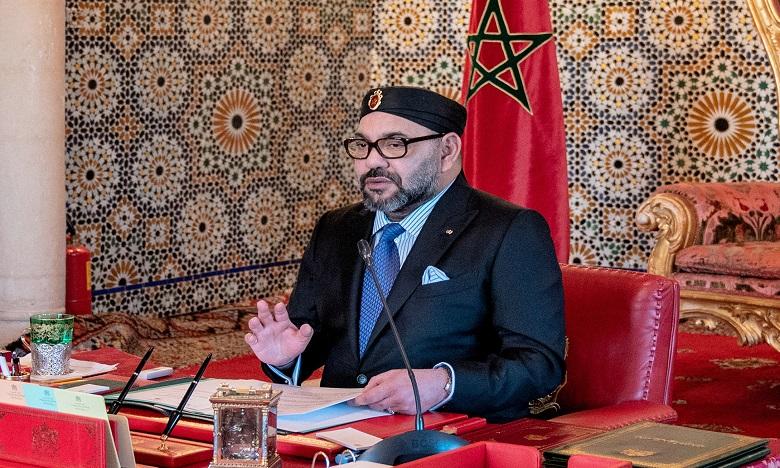 S.M. le Roi préside une séance de travail consacrée à la situation des Marocains mis en quarantaine à Wuhan
