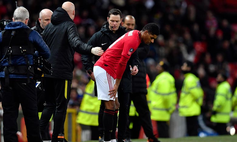 Manchester United:  Rashford indisponible au moins six semaines