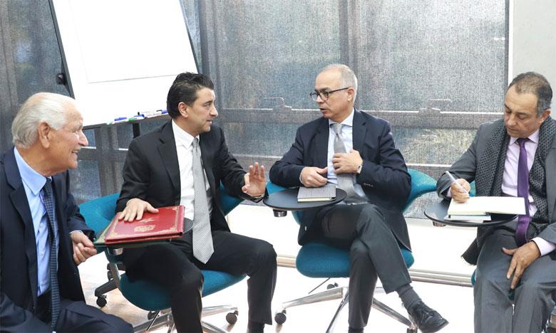 La CSMD poursuit avec le Parti de l'Istiqlal ses séances d'écoute des partis politiques et des syndicats.