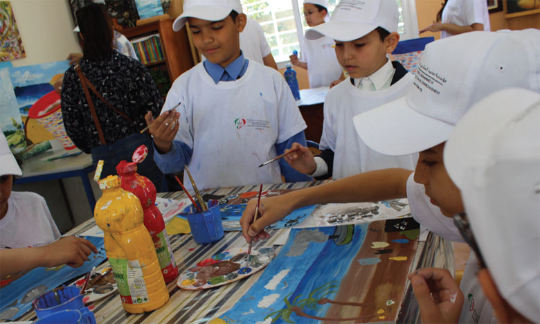 «Eco-écoles» a été introduit au Maroc en 2006 par la Fondation Mohammed VI pour la protection de l'environnement. Ph. DR