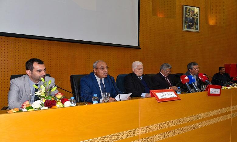 Le lancement de la Chaire a été marqué par une conférence donnée par le penseur Abdallah Laroui et ce en présence des universitaires, des chercheurs, des étudiants et des intellectuels. Ph: MAP.