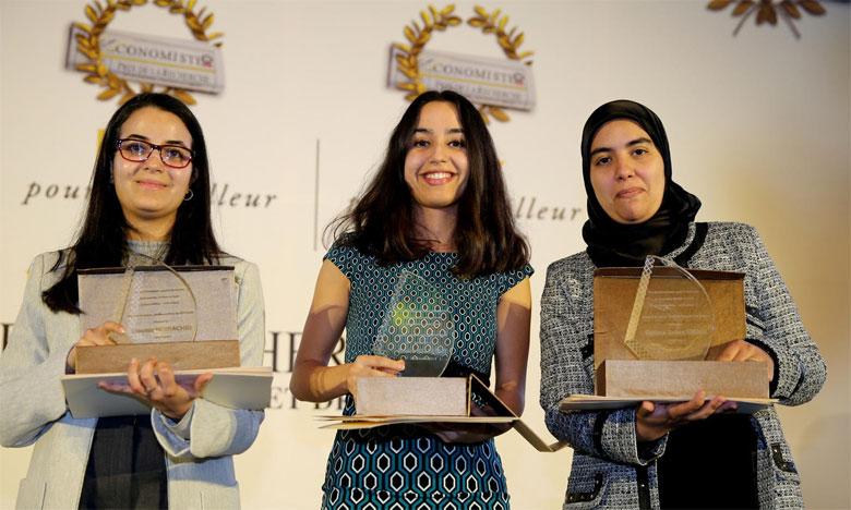 Les lauréats de la 15e  édition primés