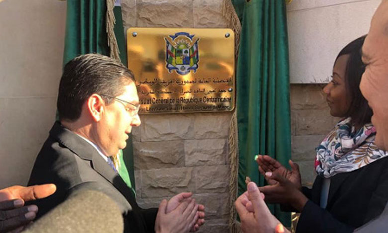 Sao Tomé-et-Principe et la République centrafricaine inaugurent leurs consulats à Laâyoune