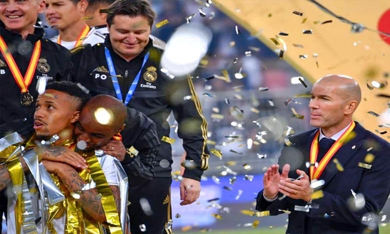 Le Real Madrid s'était qualifié en finale en battant Valence 3-1. Ph : AFP