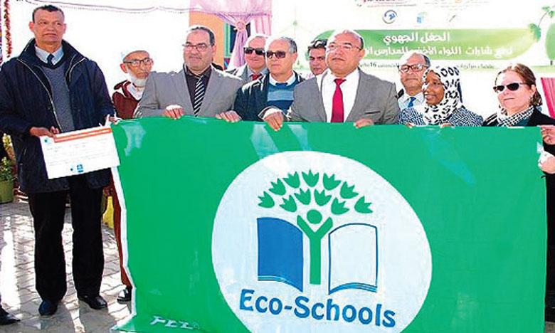 Onze établissements scolaires labellisés  «Pavillon vert»