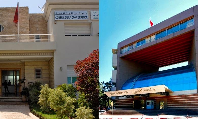 Bank Al-Maghrib et le Conseil de la Concurrence s'allient