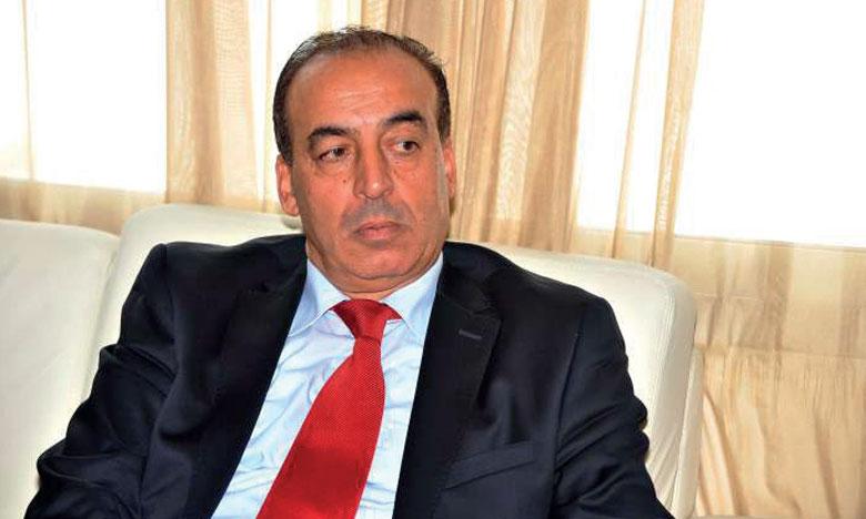 El Hassan Abyaba reçoit une délégation du comité préparatoire du congrès extraordinaire de l'Union des écrivains du Maroc