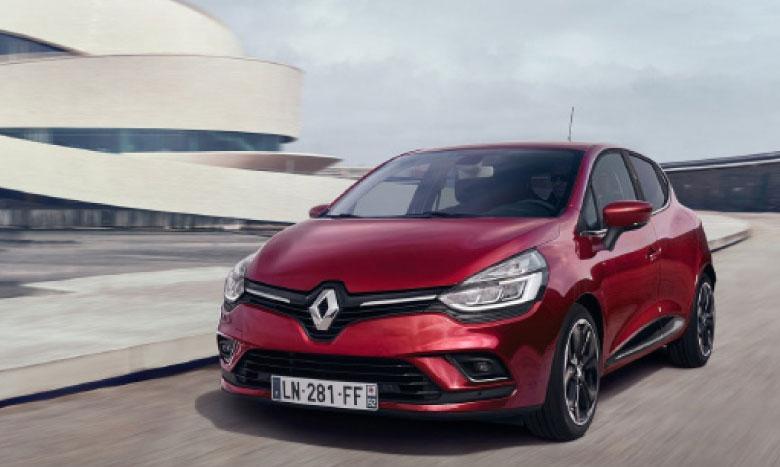 Avec 12.377 unités écoulées, Renault Clio devient, pour la première fois, la voiture la plus vendue au Maroc.