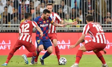 Supercoupe d'Espagne: L'Atlético renverse le Barça