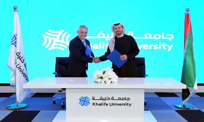 L'AMEE et l'Université Khalifa d'Abu Dhabi  signent un mémorandum d'entente