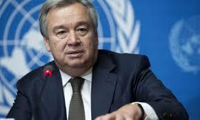 Le Secrétaire général de l'Onu, Antonio Guterres.