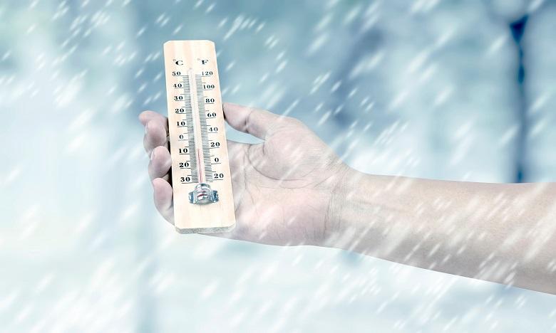 Temps froid, chute de neige et fortes rafales de vents à partir de dimanche