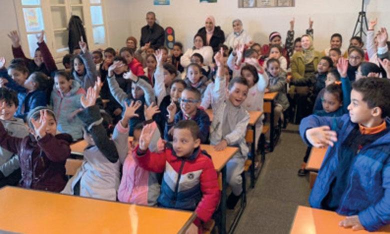 HWPL organise un Peace Camp au profit des élèves marocains