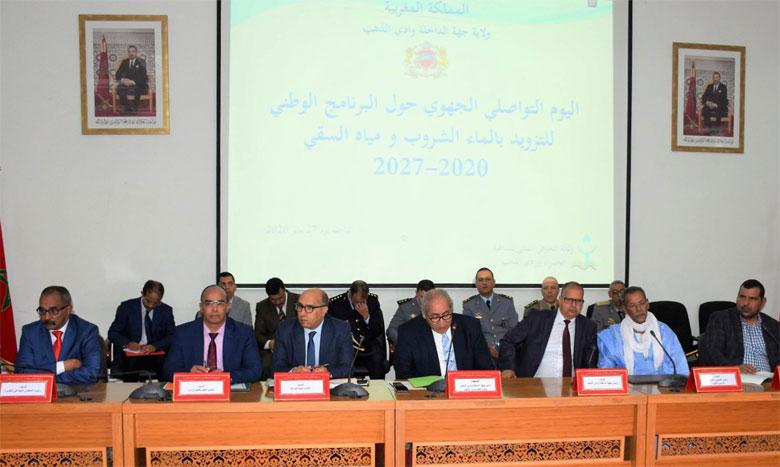 Cinq barrages et une station de dessalement  de l'eau de mer dans la région  de Dakhla-Oued Eddahab