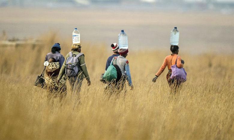 Les deux baisses de précipitations les plus importantes prévues à la fin du siècle se produiront en Afrique. Ph. DR