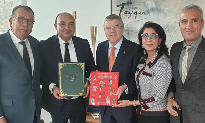 La Fondation Mohammed VI des champions sportifs s'associe au CIO