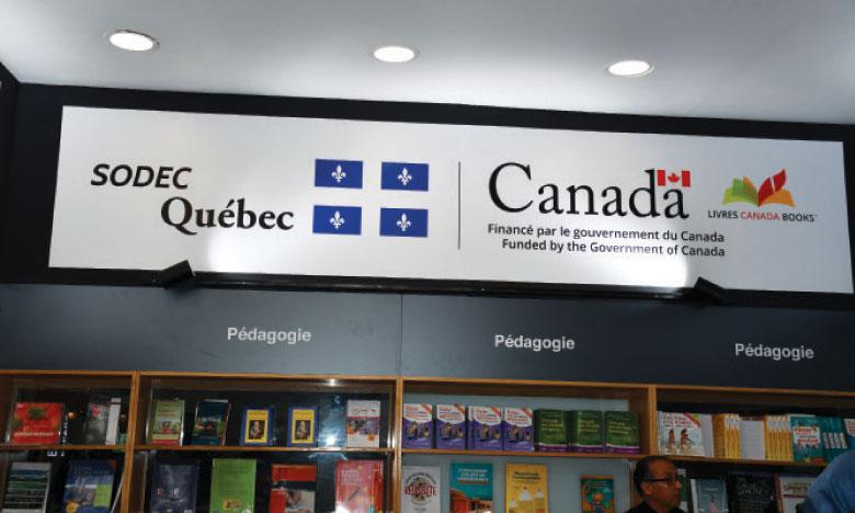Les Marocains de plus en plus séduits  par les ouvrages québécois