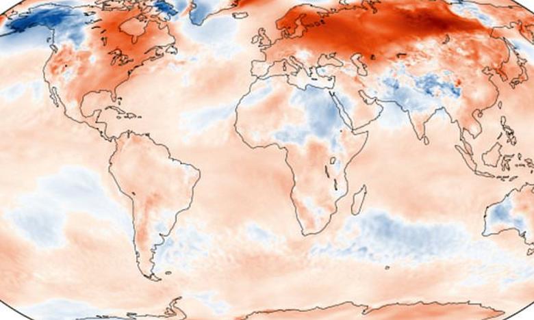 Janvier 2020 est le mois de janvier le plus chaud jamais enregistré