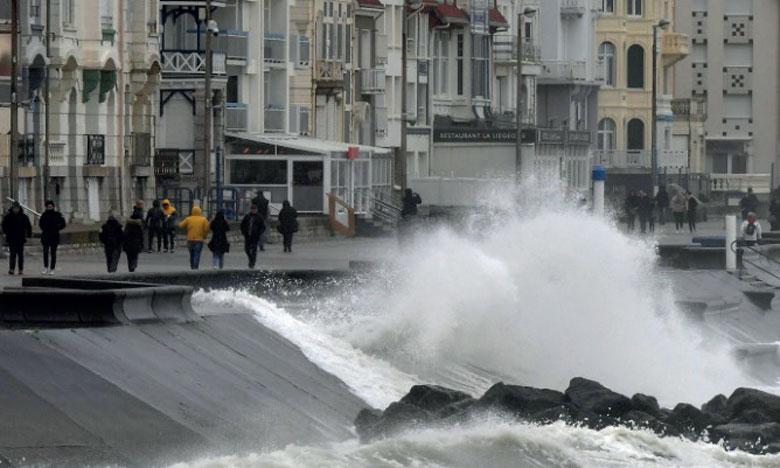 Hauts-de-France : des vents entre 100 et 120 km/h attendus