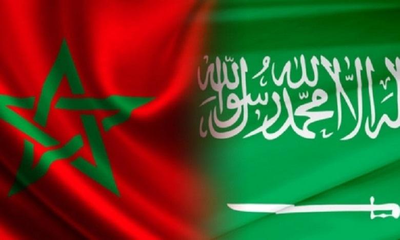 Le Prince Héritier d'Arabie Saoudite reçoit le Conseiller de S.M. le Roi, M. Fouad Ali El Himma, qui lui a transmis un message verbal de Sa Majesté le Roi Mohammed VI