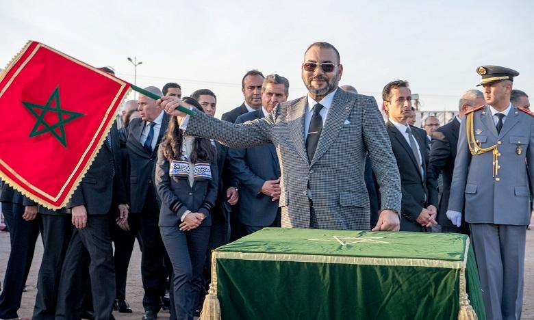 S.M. le Roi lance les travaux de construction de la Cité d'Agadir, un premier jalon d'une offre qualitative de Formation professionnelle