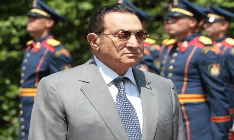 Décès de l'ex-président égyptien Hosni Moubarak