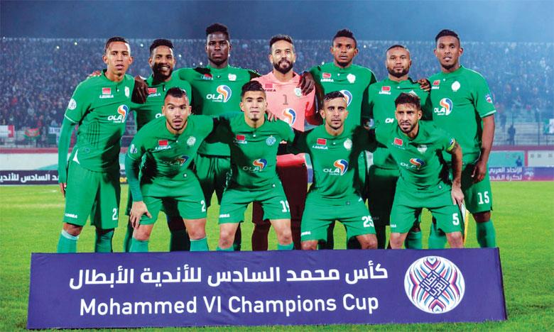 Le Raja accueille le Mouloudia d'Alger pour entériner  sa qualification