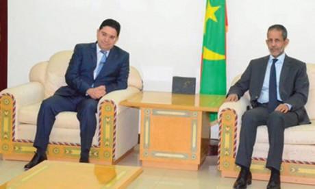 Nasser Bourita souligne l'importance de l'accord  maroco-mauritanien de fraternité et de bon voisinage