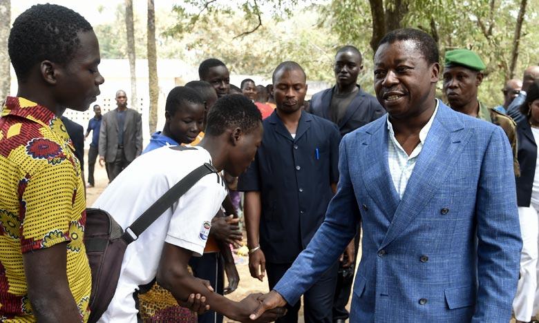 Faure Gnassingbé est réélu dès le premier tour de la présidentielle avec 72,36% des voix. Ph :  AFP