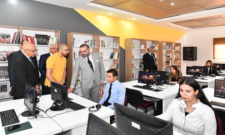 S.M. le Roi donne une forte impulsion aux programmes de l'INDH, accordant la priorité aux jeunes