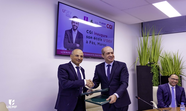 A l'initiative du CGI, U'DEV a ouvert officiellement ses portes à Fès. Ph: DR