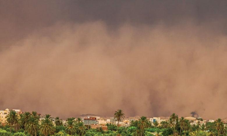 Depuis le siècle dernier, les pays du Moyen-Orient et d'Afrique du Nord sont confrontés à une hausse de la fréquence et de l'intensité des tempêtes de sable et de poussière. Ph. Banque mondiale