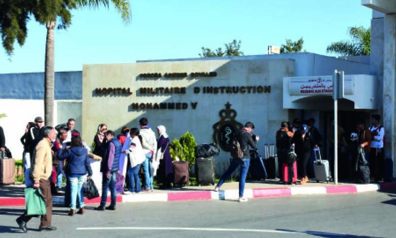Les 167 Marocains rapatriés de la ville chinoise de Wuhan quittent l'hôpital Sidi Saïd de Meknès et l'hôpital militaire de Rabat en «bonne santé»