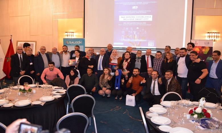 Dans les finals du Hackathon organisé par l'UH2C, en partenariat avec l'association R2S, 12 projets ont été en lice, dont 3 ont été primés. Ph: DR