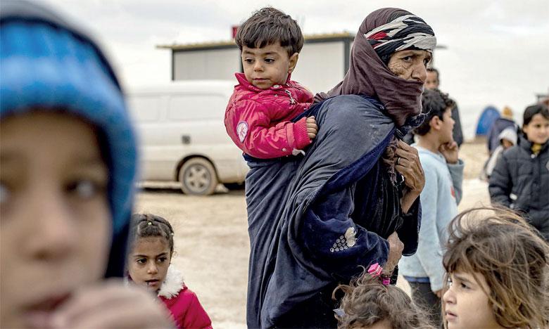 Environ 700.000 déplacés dans le nord-ouest depuis décembre