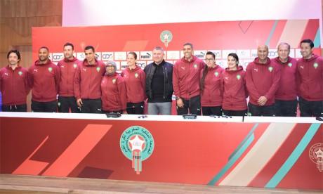 Osian Roberts dévoile son équipe d'entraîneurs et promet  une identité de jeu marocaine