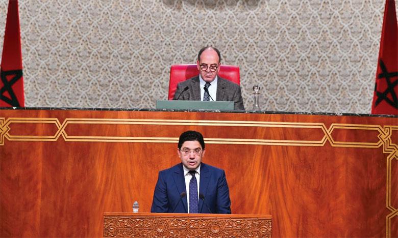 La Chambre des conseillers adopte deux projets de loi visant à établir la compétence juridique du Royaume sur l'ensemble de son domaine maritime