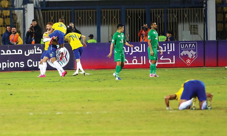 Le Raja mal embarqué après sa défaite  à l'aller face à Al Ismaïly