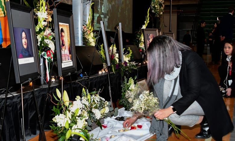 Un total de 176 personnes, dont 57 Canadiens, ont péri dans le crash tragique du Boeing ukrainien, abattu accidentellement en janvier par des tirs de missiles iraniens. Ph : AFP